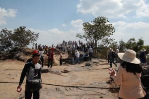 Preah Vihear tourists